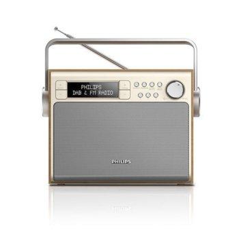 Радио Philips AE5020, ретро дизайн, LCD display, RMS 3W image