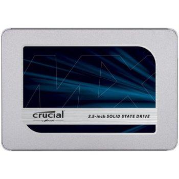 """Памет SSD 500GB Crucial MX500, SATA 6Gb/s, 2.5"""" (6.35 cm), скорост на четене 560 MB/s, скорост на запис 510MB/s image"""