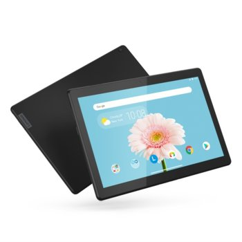 "Таблет Lenovo Tab M10 (HD)(ZA4H0032BG)(черен), 4G, 10.1"" (25.65 cm) HD IPS дисплей, четириядрен Qualcomm Snapdragon 429 2.0GHz, 2GB RAM, 16GB Flash памет (+ microSD слот), 5.0 & 2.0 Mpix, Android, 480g image"