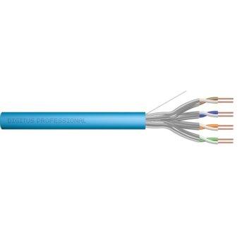 Ролка Digitus, FTP, Cat 6a, 500м, син image