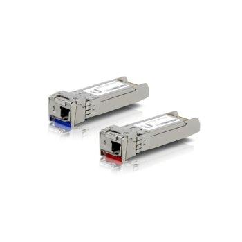 SFP модул Ubiquiti UF-SM-10G-S, 1x LC интерфейс, до 10km, single-mode, комплект 2 бр. image