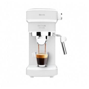 Кафемашина Cecotec Cafelizzia 790 White, 1350W, 20 bar, капацитет на резервоара за вода 1.2л., светлинен индикатор, Thermoblock, бяла image