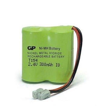 Батерия за телефон GP T154, 2x 2/3AA, 2.4V, NiMH, 300mAh, 1бр. image