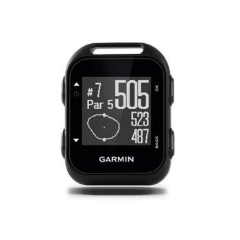 Ръчна навигация за голф Garmin Approach G10, 128x128 pix. дисплей, до 15 часа време за работа, GPS, USB, вградени карти с 40 000 игрища image