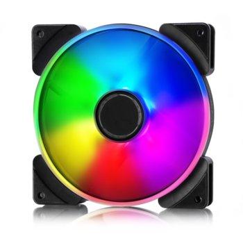 Вентилатор 140mm Fractal Design Prisma AL-14 PWM RGB, 4-pin, 1700rpm image