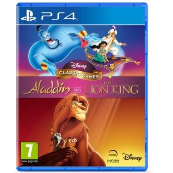 Игра за конзола Disney Classic Games: Aladdin and The Lion King, за PS4 image