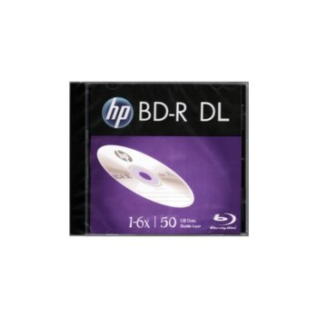 Оптичен носител Blu-Ray BD-R media 50GB HP, 6x image