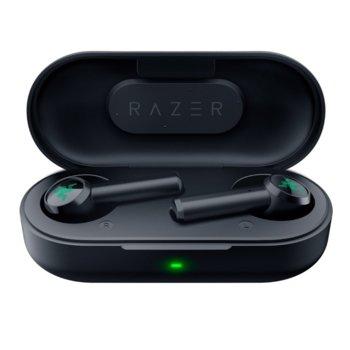 Слушалки Razer Hammerhead True Wireless (RZ12-02970100-R3G1), безжични, микрофон, Bluetooth, IPX4 защита, черни image
