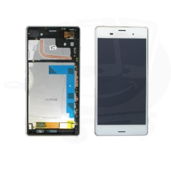 Sony Xperia Z3, LCD with touch and frame, white product
