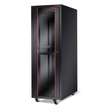 "Комуникационен шкаф FORMRACK BETA-36U60100 19"", 36U, 600x1829mm, товароносимост 600кг, черен image"