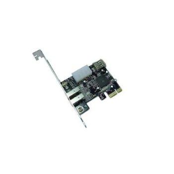 Контролер PCI-E x1 към 3x IEEE1394 (FireWire) image
