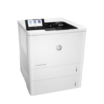 Лазерен принтер HP LaserJet Enterprise M609x, монохромен, 1200 x 1200 dpi, 71 стр/мин, LAN1000, Wi-Fi, Bluetooth, A4 image