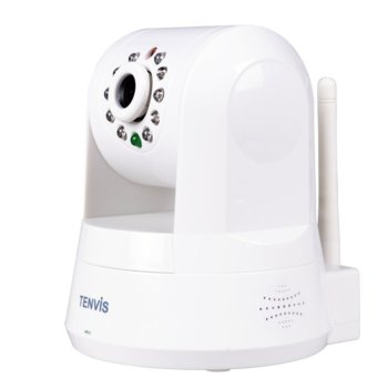 IP камера Tenvis IPROBOT3, PTZ, 720P, 3.6mm обектив, WLAN, H.264, IR осветяване image