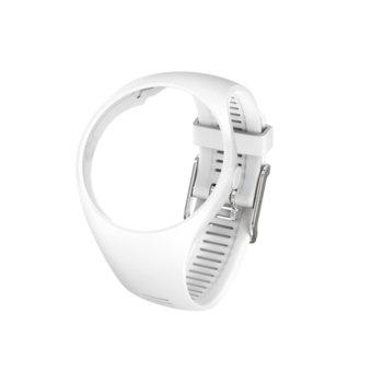 Каишка за смарт часовник Polar M200, размер S/M, бяла image