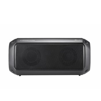 Тонколона LG PK3, 2.0, 16W RMS, безжична, Bluetooth, до 12 часа възпроизвеждане, водоустойчива, USB Type C, сива image