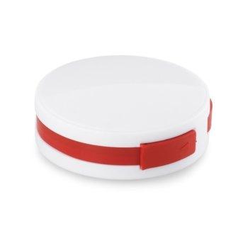 USB хъб Hi!dea, 4 порта, USB 2.0, бял-червен image