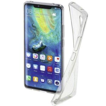 Калъф за Huawei Mate 20 Pro, полиуретан, Hama Crystal Clear, прозрачен image