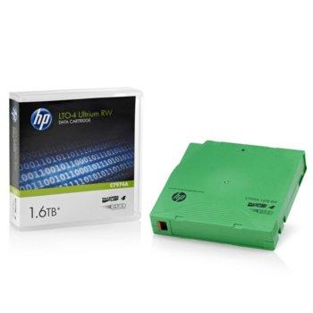 Aрхивиращo устройствo, HP C7974A, LTO-4 Ultrium, 12.65 mm/820 m, 1.6TB image
