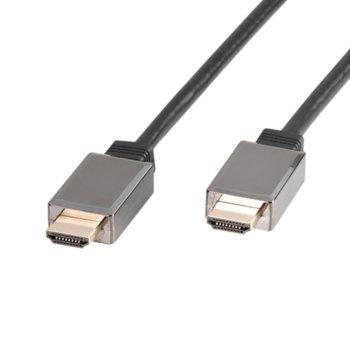 Кабел Vivanco 47/10 30P, HDMI(м) към HDMI(м), 3m, черен image