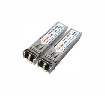 SFP модул Optone SFP-SX-MM-0205D, 2x LC интерфейс, до 550km, single-mode image
