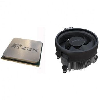 Процесор AMD Ryzen 5 5600X, шестядрен (3.7/4.6GHz, 32MB Cache, AM4) MPK, с Wraith Stealth вентилатор image