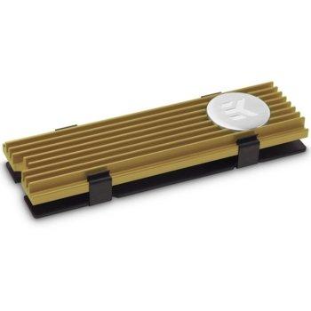 Охладител за М.2 NVMe дискове, златист image