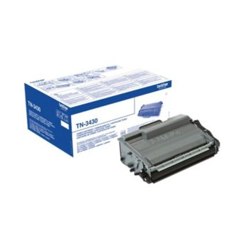Тонер касета за Brother HL L5000/L5100/L5200/L6250/L6300/L6400/DCP L5500/L6600/ MFC L5700/L5750/L6800/L6900, Black - TN3430 - Заб.: 3000 брой копия image