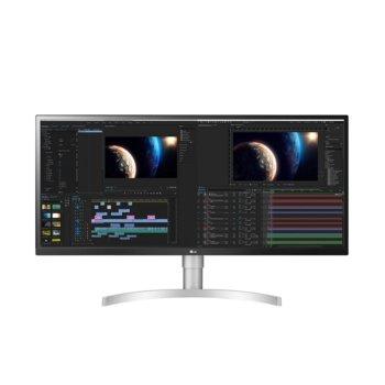 """Монитор LG 34WL850-W, 34"""" (86.36 cm) IPS панел, WQHD, 5ms, 350cd/m2, DisplayPort, 2x HDMI, 2x USB 3.0  image"""