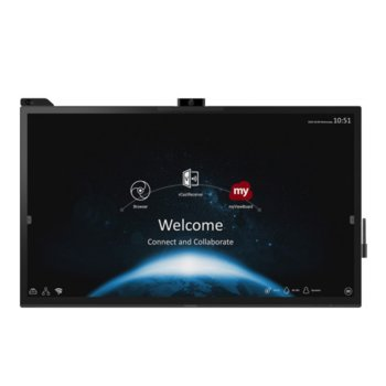 "Публичен дисплей ViewSonic IFP6570, 64.5"" (163.83 cm) 4K/UHD Touchscreen, DisplayPort, HDMI, USB, LAN image"
