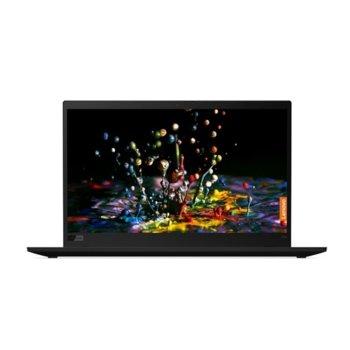 "Лаптоп Lenovo ThinkPad X1 Carbon (7th Gen) (20QD003JBM), WWAN, четириядрен Whiskey Lake Intel Core i7-8565U 1.8/4.6 GHz, 14"" (35.56 cm) 4K/UHD IPS HDR 400 UHD 500nits Anti-Glare Display, (HDMI), 16GB, 512GB SSD, Windows 10 Pro image"