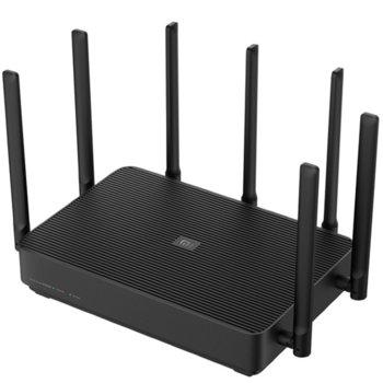 Рутер Xiaomi Mi AIoT Router, 2350Mpbs, 1200Mbps, 2.4GHz (450 Mbps), 5GHz (1733 Mbps), Wireless AC, 3x LAN ports 10/100/1000Mbps, 1x WAN port 10/100/1000Mbps, 7 външни антени image