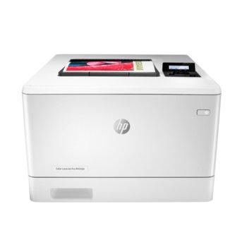 Лазерен принтер HP Color LaserJet Pro M454dn, цветен, 600 x 600 dpi, 27 стр/мин, LAN, USB, A4, 256 MB NAND Flash, 512 MB DRAM image