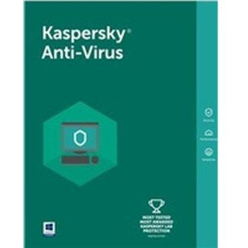 Софтуер Kaspersky Anti-Virus Eastern Europe Edition Renewal License Pack, лиценз за 1 година, 5 потребителя, Windows image