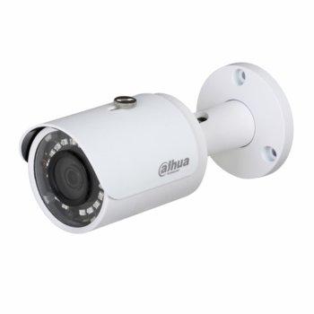 """HDCVI камера Dahua HAC-HFW1200S-0280B-S4, насочена """"bullet"""" камера, 2MPix(1920×1080@30fps), 3.6mm, IR осветеност (до 30 m), външна IP67 image"""