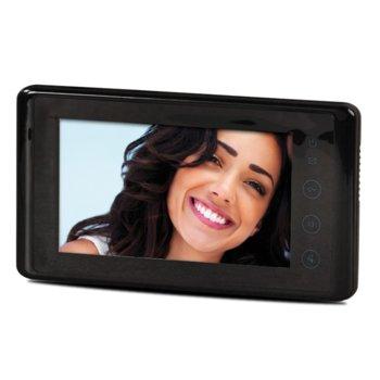 "Видеодомофон Farfisa SEM7, 7"" (17.78 cm) цветен LCD дисплей, DUO технология, интерком, черен image"