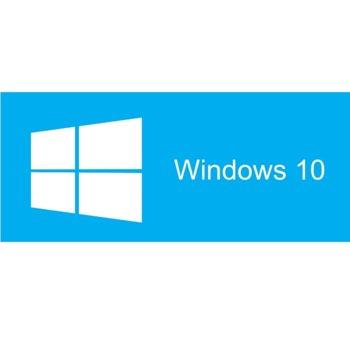 Операционна система Microsoft Windows 10 Home, 64-bit Български, 1pk DSP DVD image
