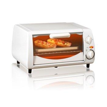 Тостер за сандвичи - фурна SAPIR SP 1441 NW, 10 литра, таймер, 800W, бяла image