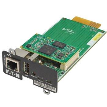 Мрежова карта Eaton Gigabit Network Card (NETWORK-M2) за Eaton UPS image