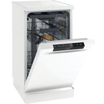 Съдомиялна Gorenje GS541D10W, свободностояща, клас D, 11 комплекта, 3 програми, 4 температури, SpeedWash функция, TotalDry, ExtraHygiene, функция 3 в 1, бяла image