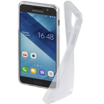 Калъф за Samsung Galaxy A3 (2017), полиуретан, Hama Crystal Clear, прозрачен image
