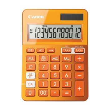 Калкулатор Canon LS-123K-OR, функция за данъчни изчисления, оранжев image