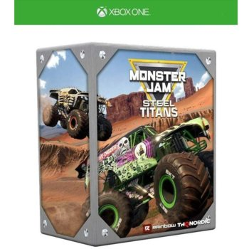 Monster Jam Steel Titans Collectors Edition Xb One product
