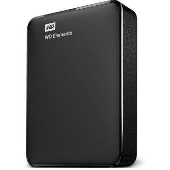 """Твърд диск 3TB Western Digital Elements Portable, външен, 2.5""""(6.35 см), USB 3.0/USB 2.0 image"""