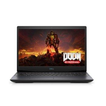 "Лаптоп Dell G5 5500 (5397184440049-16GB-WIN10PRO), шестядрен Comet Lake Intel Core i7-10750H 2.6/5.0 GHz, 15.6"" (39.62 cm) Full HD Anti-Glare Display & GTX 1650 Ti 4GB, (HDMI), 16GB DDR4, 512GB SSD, 1x USB 3.2 Type C, Windows 10 Pro image"