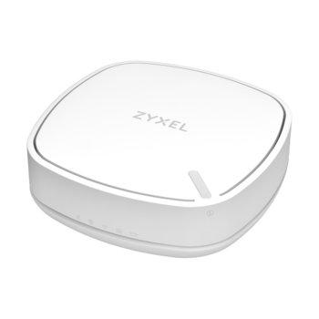 Рутер ZyXEL LTE3302, 3G/4G, преносим, 300Mbps, 2.4 GHz (300Mbps), 2x RJ-45, Mini SIM, Micro USB, 2 вътрешни антени, без батерия image