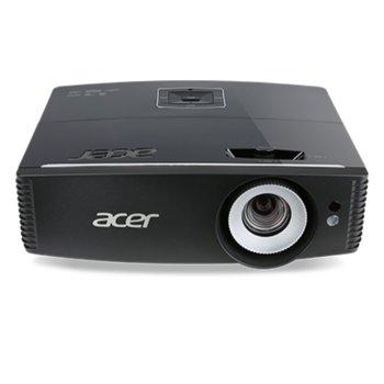 Проектор Acer P6200S, DLP, WUXGA (1920x1200), 3D Ready, 20 000:1, 5000 lm, HDMI, USB, LAN image