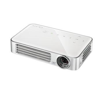 Джобен проектор Vivitek Qumi Q6-WT, LED, 3D Ready, WXGA (1280x800), 30000:1, 800 lm, 2x HDMI, USB, Wi-Fi, бял image