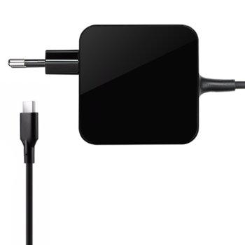 Захранване за лаптопи 45W 5V/9V/14.5V/15V/20V, 2.0А 2.25A 3.0A, USB Type-C image