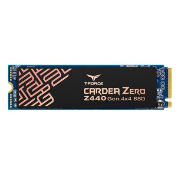 Памет SSD 1TB Team Group T-Force Cardea Zero Z440, NVMe (PCIe Gen4), M.2 (2280), скорост на четене 5000 MB/s, скорост на запис 4,400 MB/s image