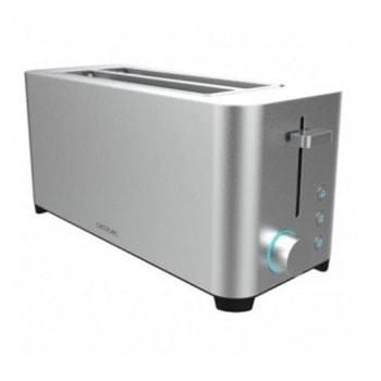 Тостер Cecotec YummyToast Extra Double, 5 степени, 4 филии, функция размразяване, функция загряване, 1400W, инокс image